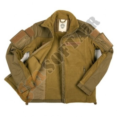 Combat Fleece Vest TAN tg.M