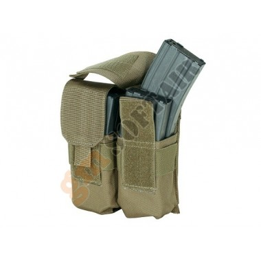 M4 Double Mag Pouch Coyote Tan