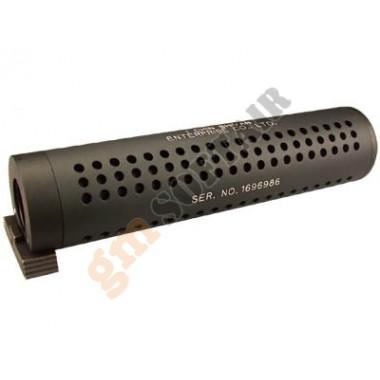 Silenziatore QD da 180 mm