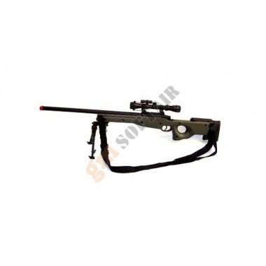 Mauser L96 Verde con Ottica e Bipiede