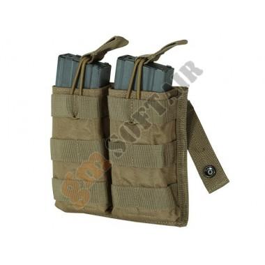 M4/M16 Open Top Mag Pouch Doppio Coyote TAN