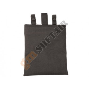 12 In Roll-Up Dump Pouch Nero