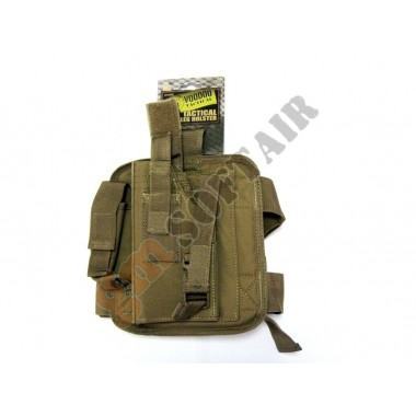 Tactical Drop Leg Holster Coyote TAN Sinistra