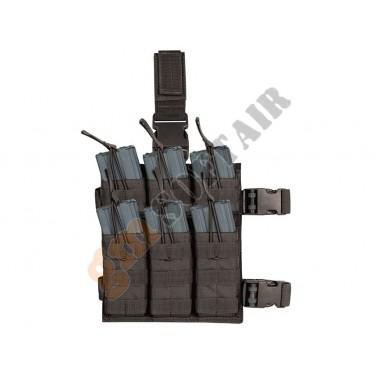 M4/M16 6 Mag Drop Leg Shingle Stacker Nero
