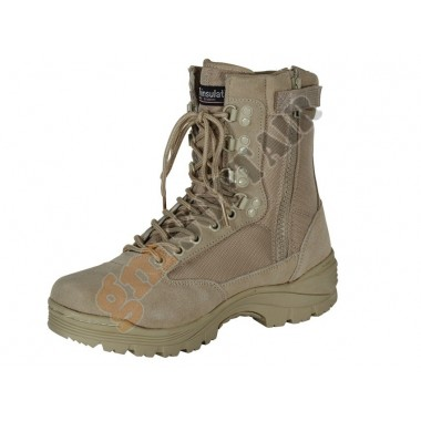 9 inc Tactical Boots TAN tg.6