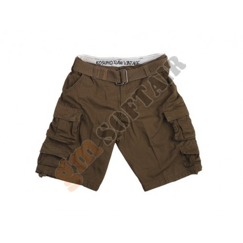 Short Stone Washed Brown tg. XL