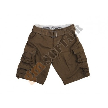 Short Stone Washed Brown tg. XXXL