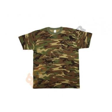 T-Shirt Woodland tg. XXL