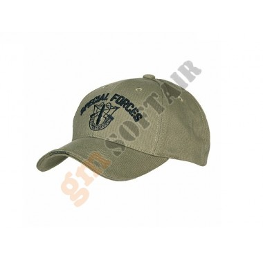 Cappellino Verde Special Forces
