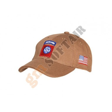 Cappellino Tan 82nd Airborne