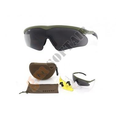 Tactical Assault Goggle Style Verdi Oliva