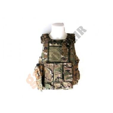 Body Armor con Tasche Multicam