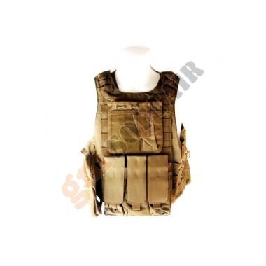 Body Armor con Tasche TAN