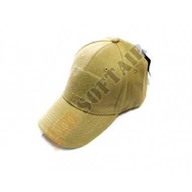 Cappello Contractor con Velcro Sabbia