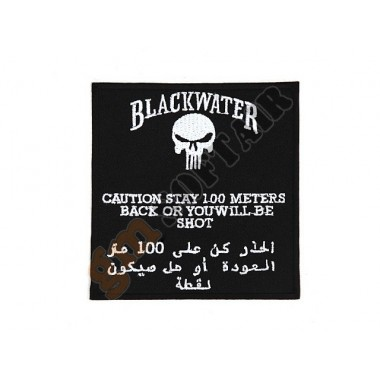 Patch BlackWater 100 Meters (no Velcro)