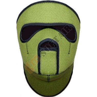 Maschera Integrale in Neoprene Verde