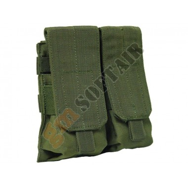 M4 Double Mag Pouch Verde Oliva