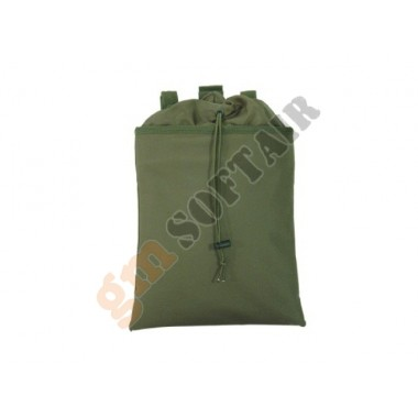 12 In Roll-Up Dump Pouch Verde Oliva