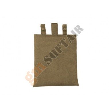 12 In Roll-Up Dump Pouch Coyote TAN