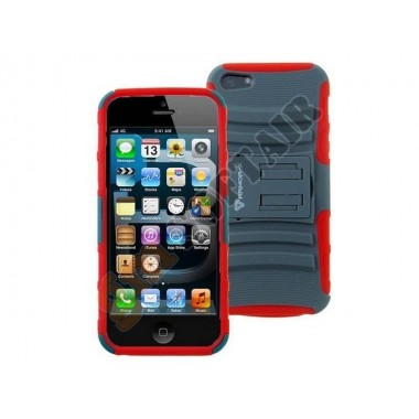 Cover iPhone 5 Gray/Red ACS-A13-P2SRD