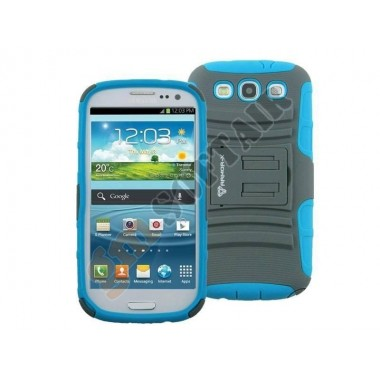Cover Galaxy SIII Grey/Blue ACS-S21-P2SGB