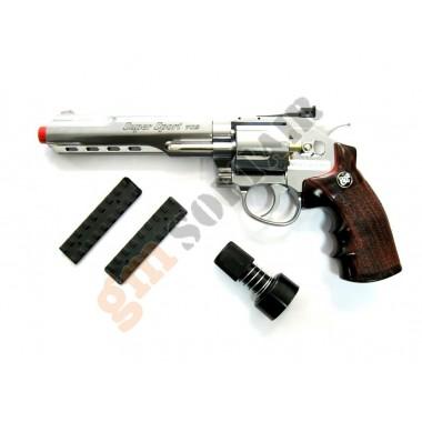 Revolver C702 6 inc Silver