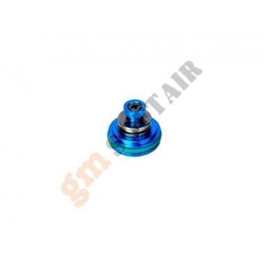 Testa Pistone Alluminio con Cuscinetto Blu