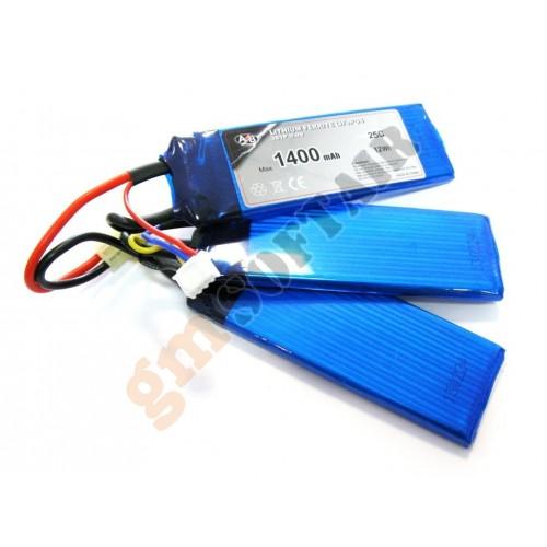 LiFe Po4 9.9x1400 25C Tripla (ACTION BATTERIES)