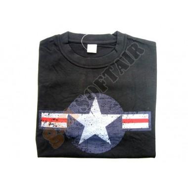 T-Shirt WWII USAF Nera tg. L