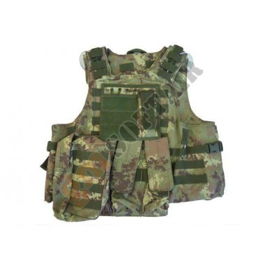 Body Armor con Tasche Vegetato