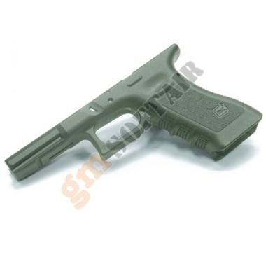 Guscio per Glock G17 Verde