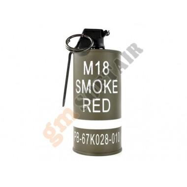 Porta GAS MK18 Red Smoke Grenade