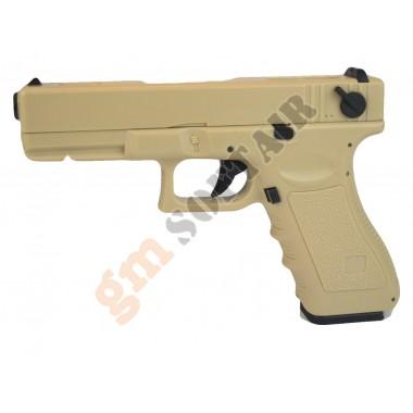 Glock G18C Elettrica TAN
