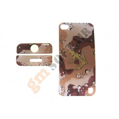 Cover iPhone 4 Chocolate Chips Frog