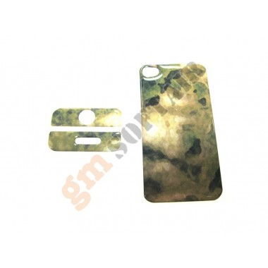 Cover iPhone 4 A-Tacs Green