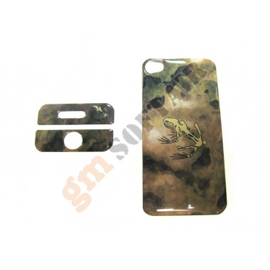 Cover iPhone 4 A-Tacs Green Frog