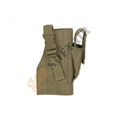 Tactical MOLLE Holster Coyote TAN Destra