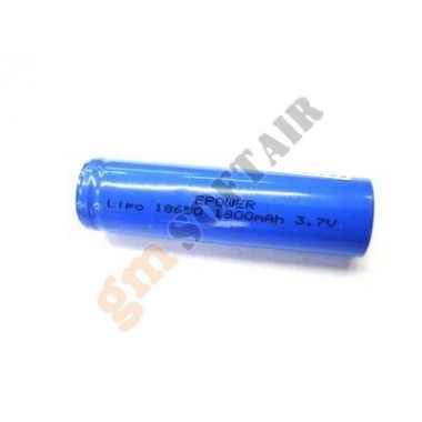 Batteria 3.7V x 1800mAh per Torce