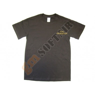 T-Shirt Brown Seal Experience tg.S