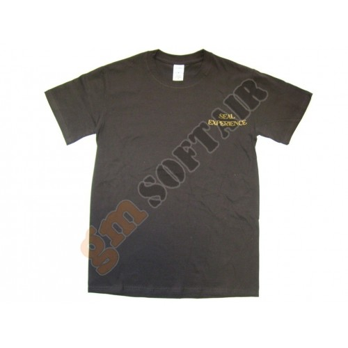 T-Shirt Brown Seal Experience tg.M