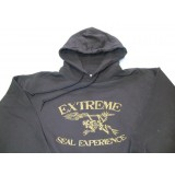 Felpa Brown Cappuccio Extreme Tg.XL