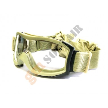 Occhiale TACTICAL X1000 Sabbia