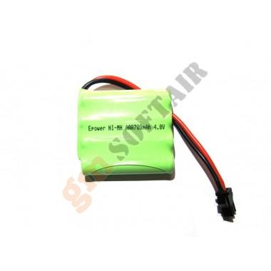 Batteria 4.8V x 700mAh per Caricatori Elettrici