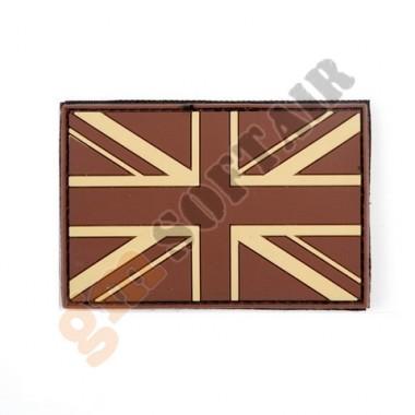 Bandiera UK Desert Gommata PVC