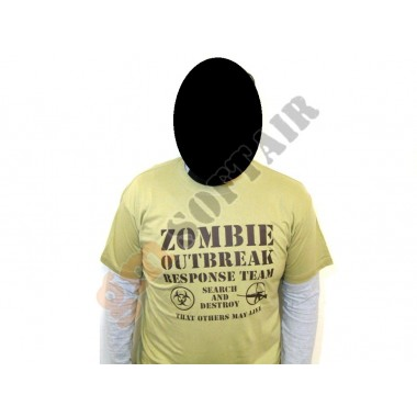 T-Shirt con Logo Stampato tg.L